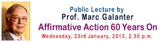 Public lecture - Prof Mact Galanter