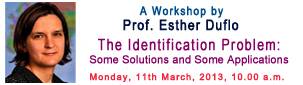 Workshop by Esther Duflo